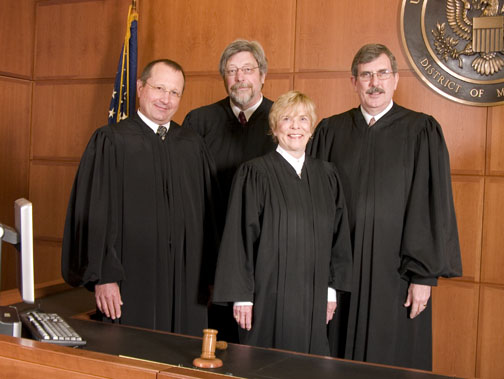 Court Judges 2009